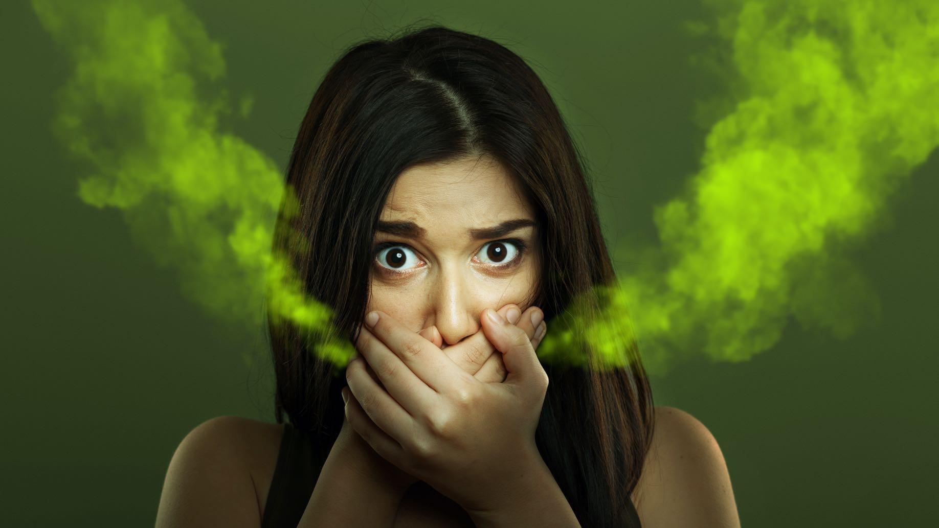 menschliche Mundhöhle