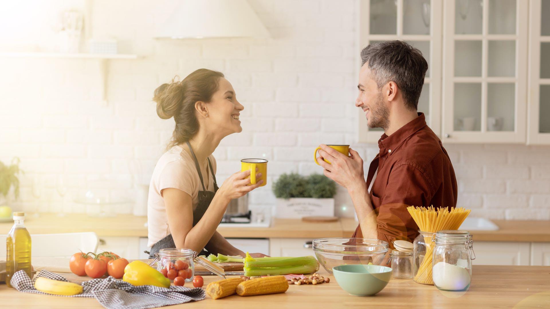 Beziehung gemeinsam kochen